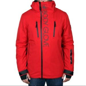 NWT BODY GLOVE Ski & Snowboard Jacket Parka Red